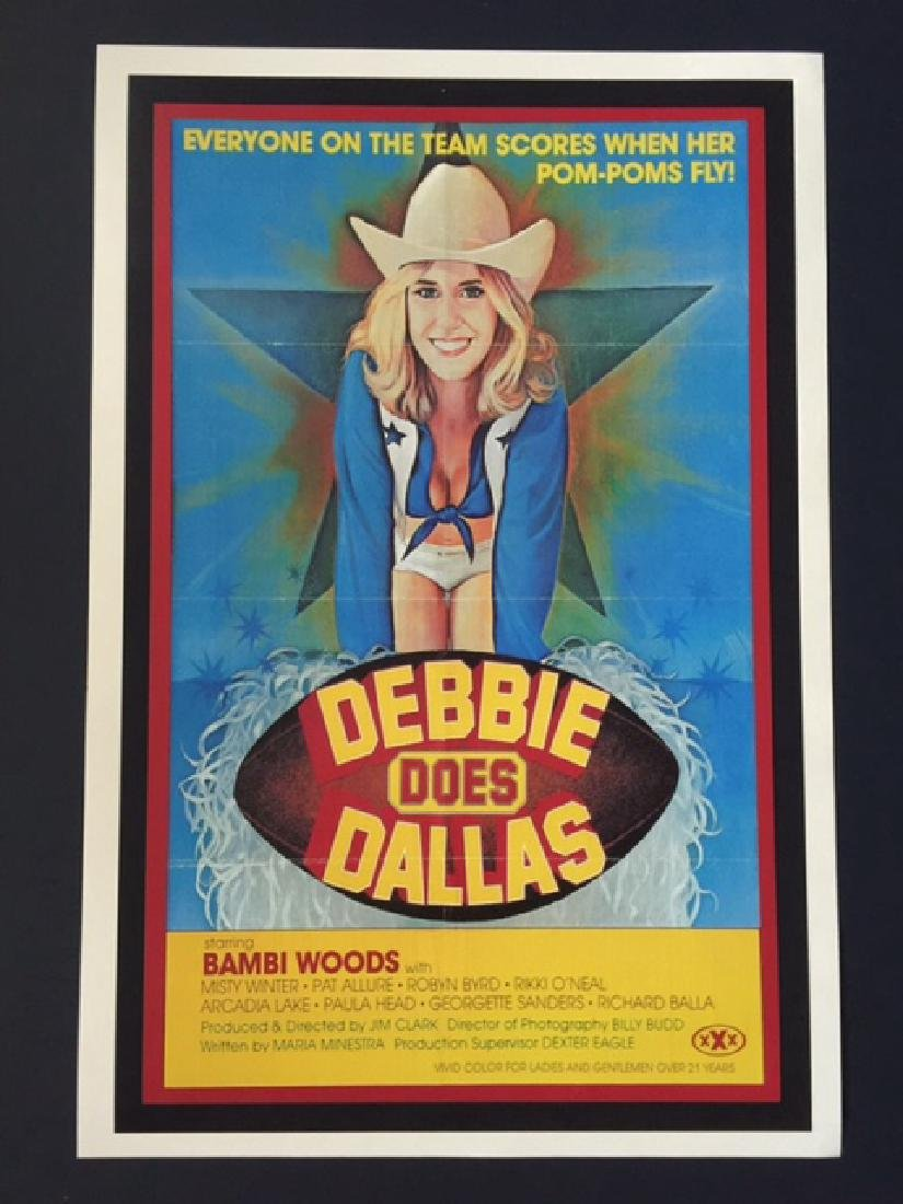 xxx erotic debbie does dallas lobby card poster