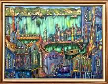 JOSE MARIA MIJARES Oil on Canvas c 1988