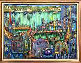 JOSE MARIA MIJARES, Oil on Canvas, c. 1988