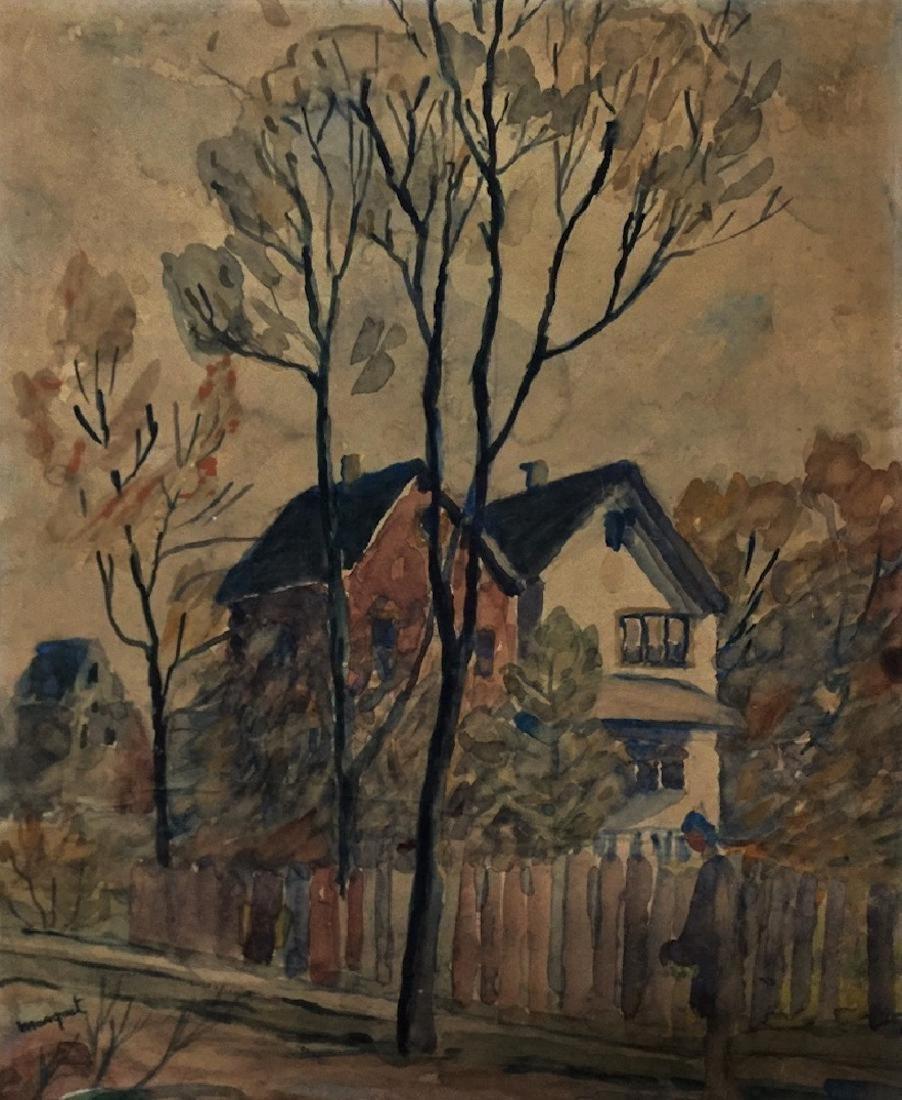 ALBERT MARQUET, Watercolor on paper