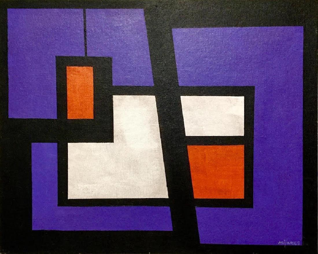 JOSE Ma. MIJARES, Oil on canvas panel