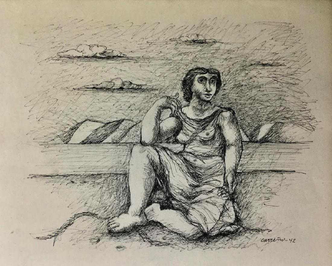 MARIO CARREÑO, Ink on paper