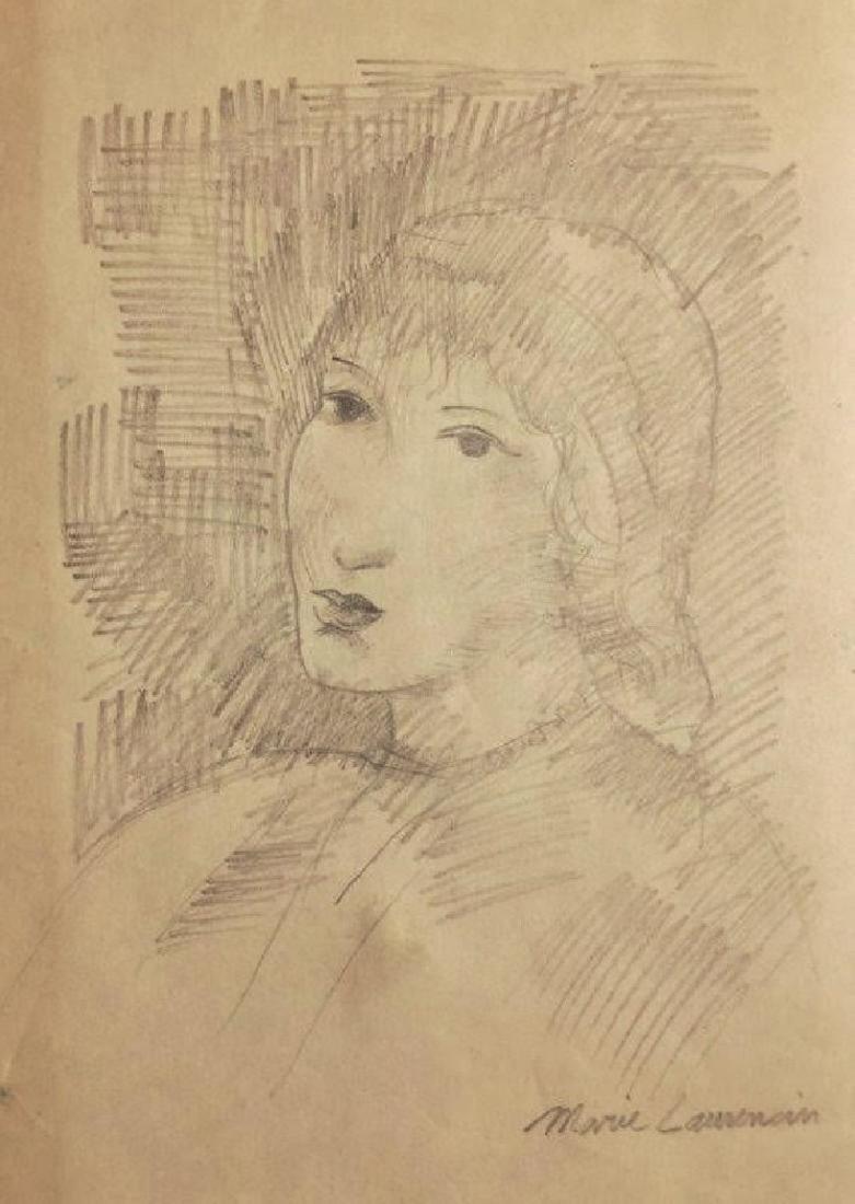 MARIE LAURENCIN, Pencil on paper