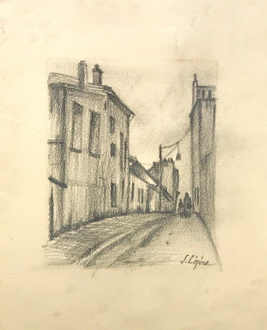 STANISLAS LEPINE, Graphite on Paper