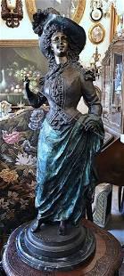 ERNEST RANCOULET Bronze Sculpture Victorian
