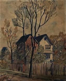 ALBERT MARQUET Watercolor on paper