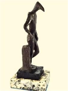 SALVADOR DALI, Bronze sculpture (Birdman)