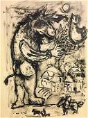 MARC CHAGALL, Indian ink on paper