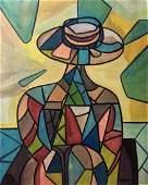 CARLOS SOBRINO, Oil on canvas