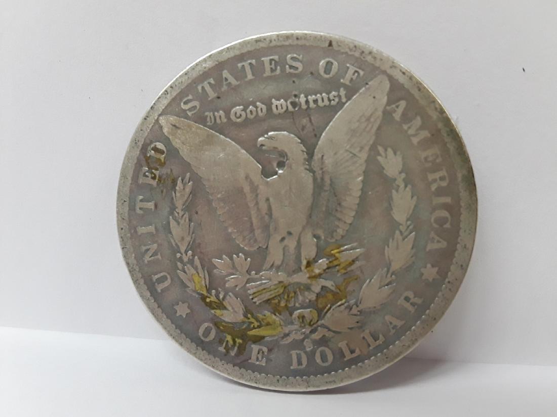 1880 S Morgan Silver US Dollar - 2