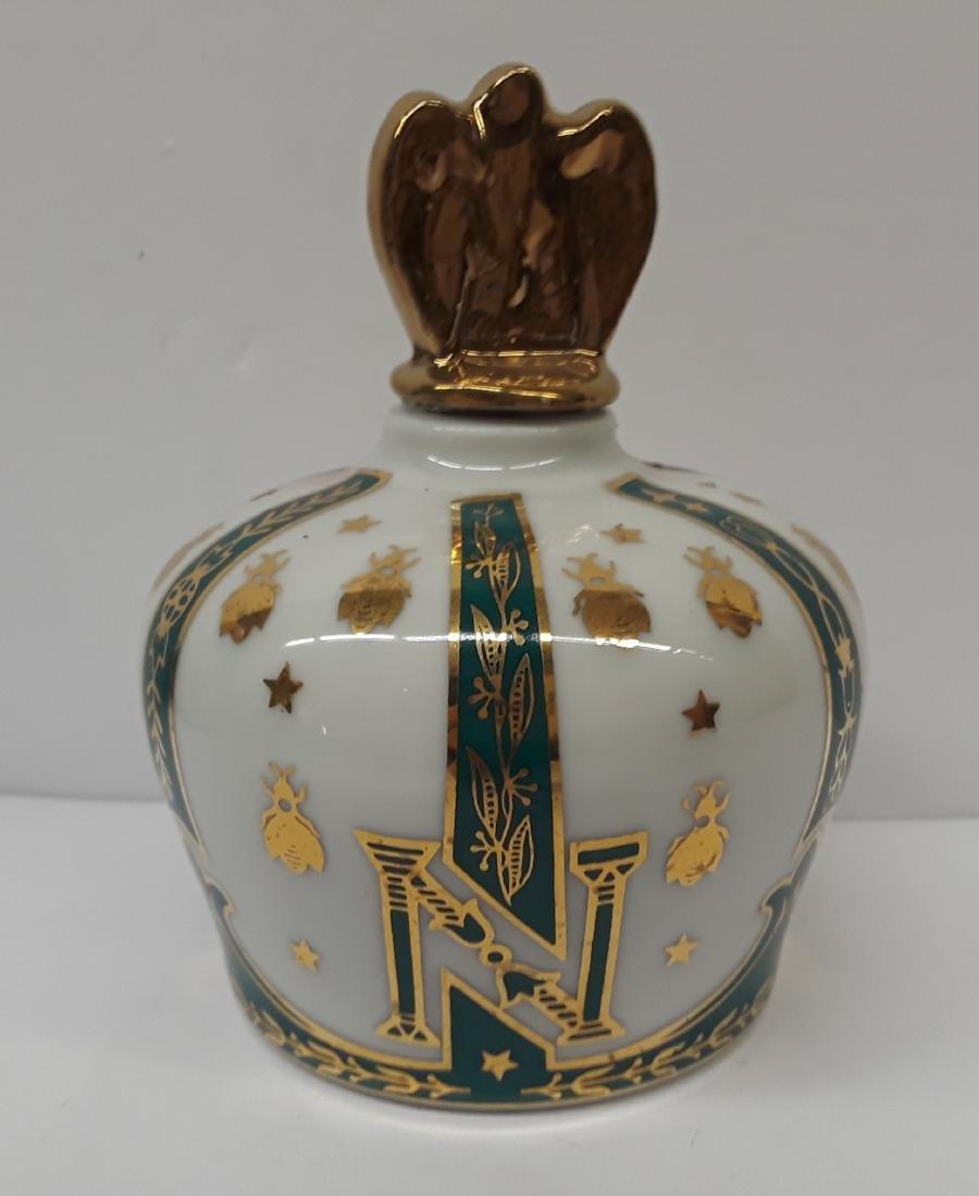Vintage Napoleantic Style Limoges Perfume Bottle