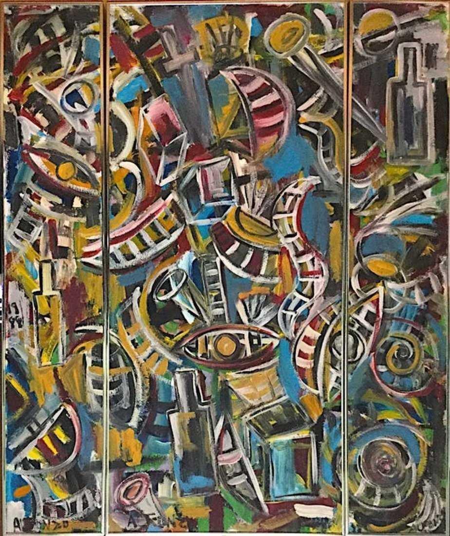 CARLOS ALFONZO, Oil on Canvas