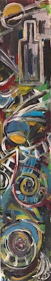 CARLOS ALFONZO, Oil on Canvas - 2