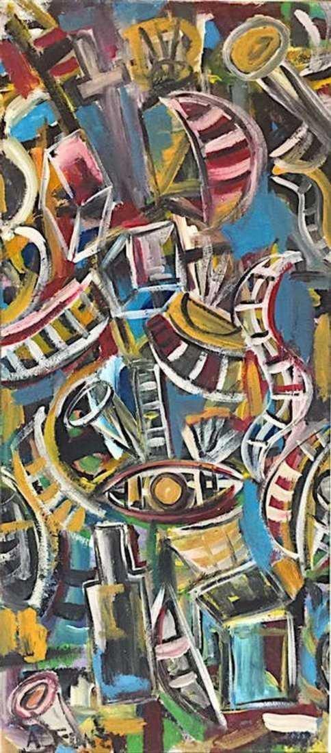 CARLOS ALFONZO, Oil on Canvas - 3