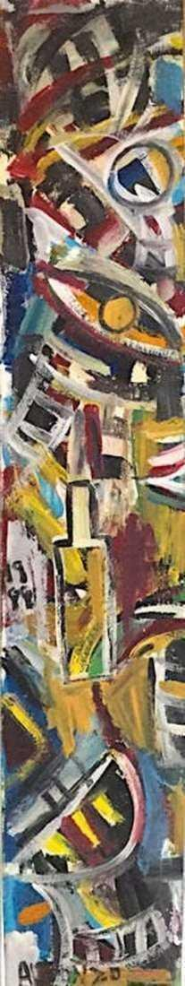 CARLOS ALFONZO, Oil on Canvas - 4