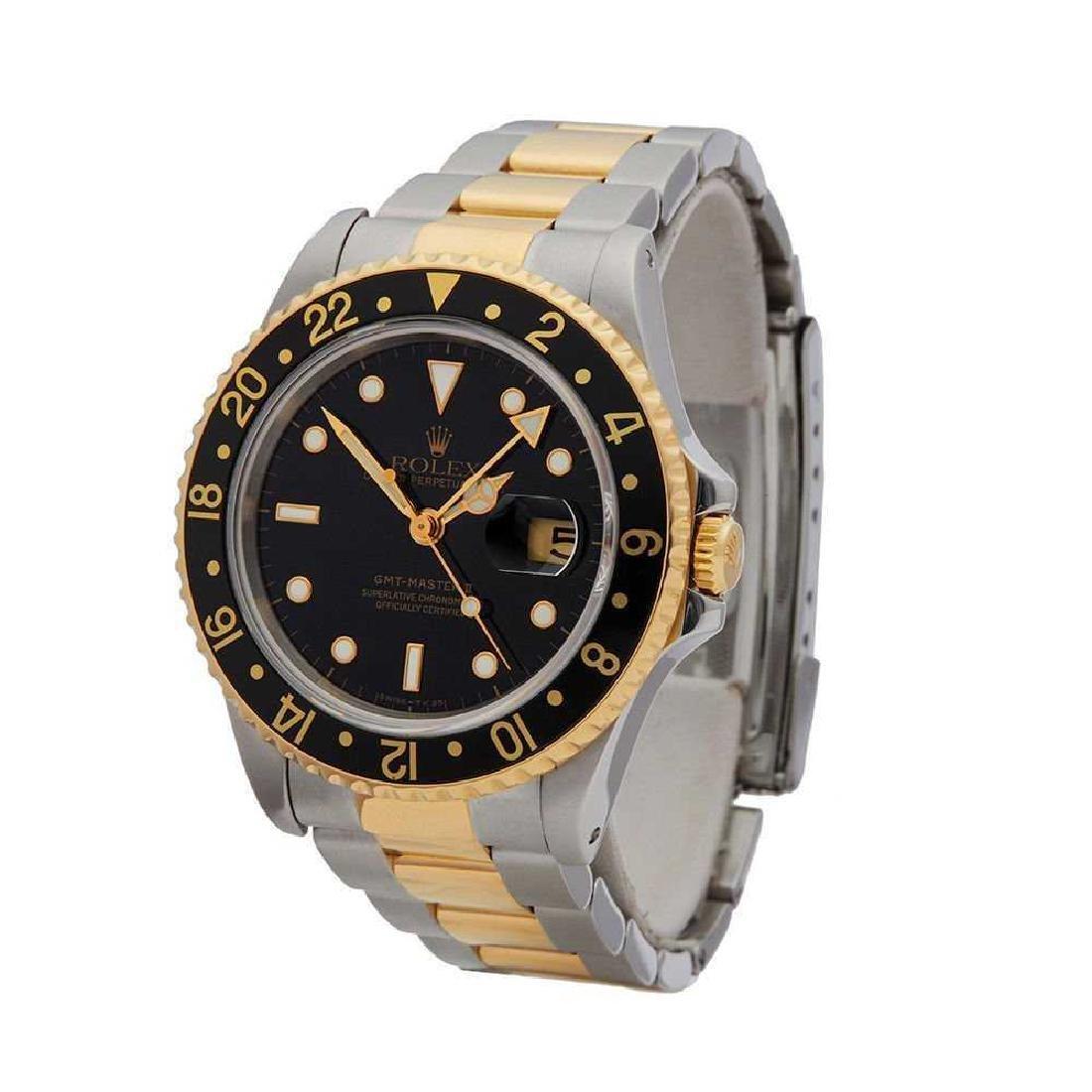 Rolex GMT Master II 16713, SS & 18K, Mens Watch. - 2