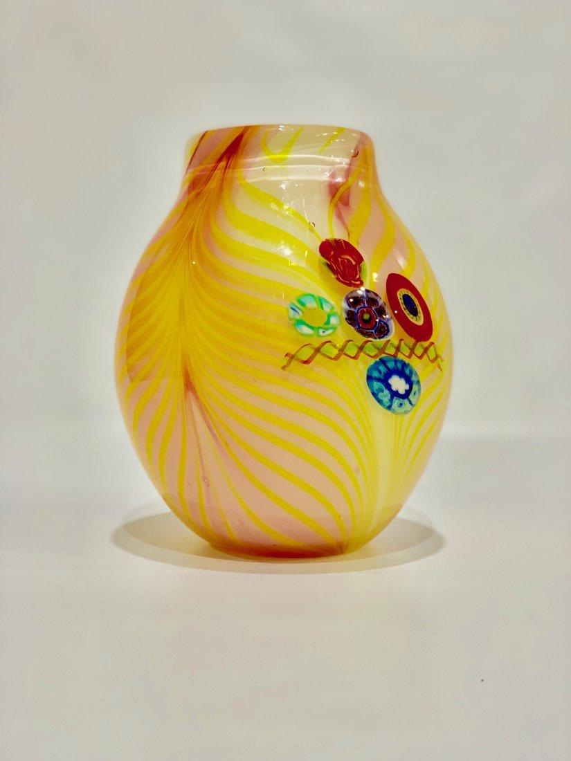 MURANO ART GLASS VASE - 3