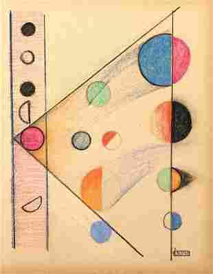 LOLO SOLDEVILLA, Pastel on Paper