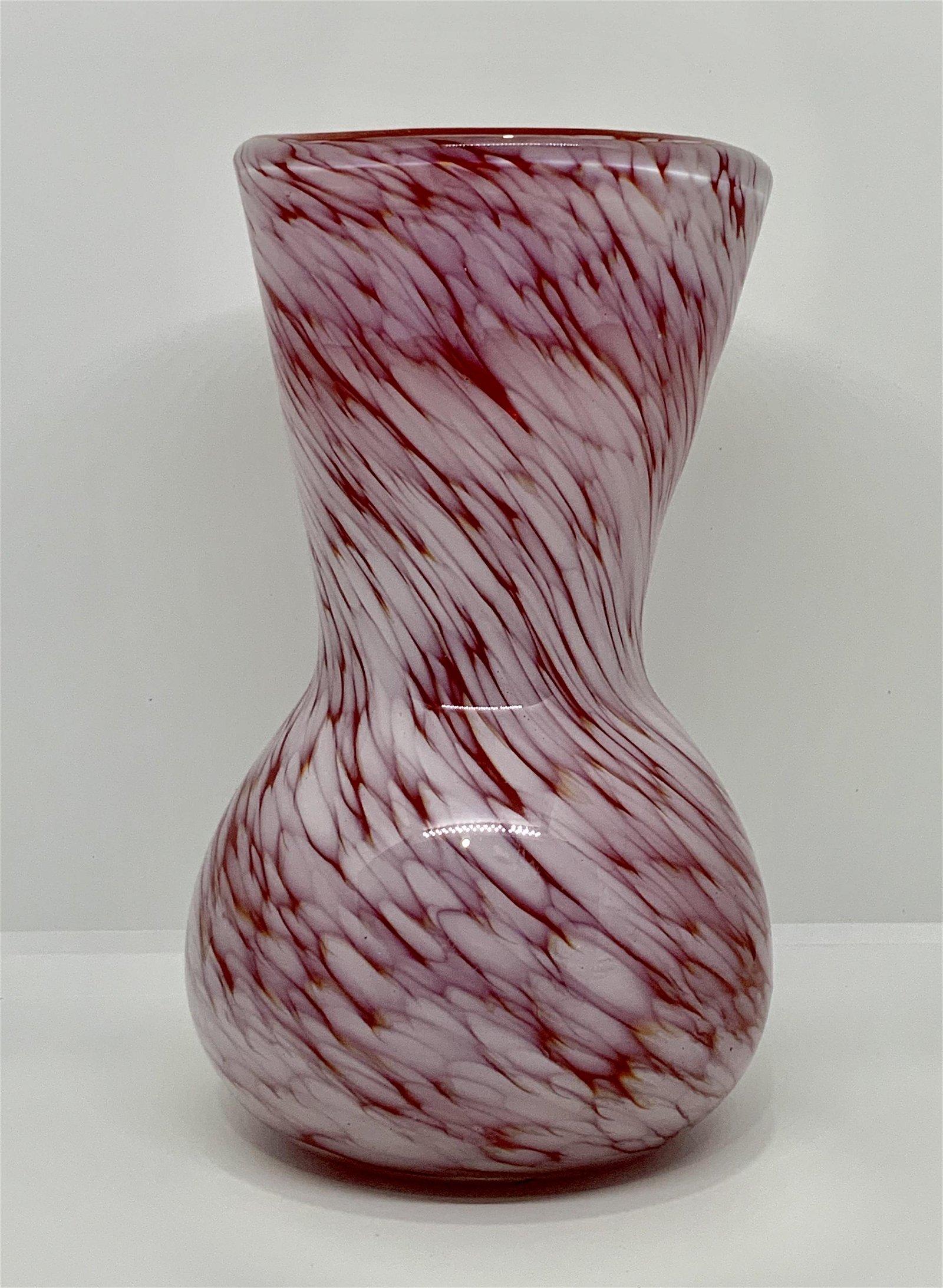 VINTAGE MURANO ART GLASS VASE