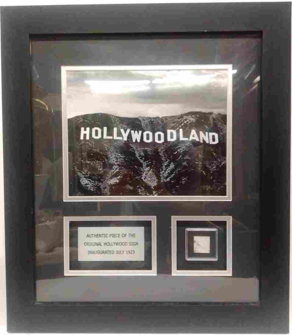 Authentic Piece of Original Vintage Hollywood Sign