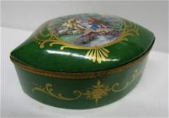 Antique Sevres French Porcelain Jewlery Box