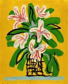 DAVID HOCKNEY, Oil on canvas (Attrib.)