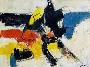 AFRO BASALDELLA, Oil on Canvas (Attrib.)