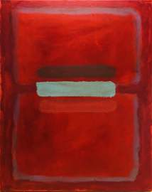 MARK ROTHKO, Oil on canvas (Attrib.)