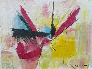 HALE ASPACIO WOODRUFF, Oil on Canvas Panel (Attrib.)