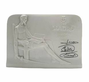 LLADRO Collection Society, signed.