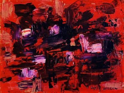 FRANK AVRAY WILSON, Oil on Canvas Board (Attrib.)