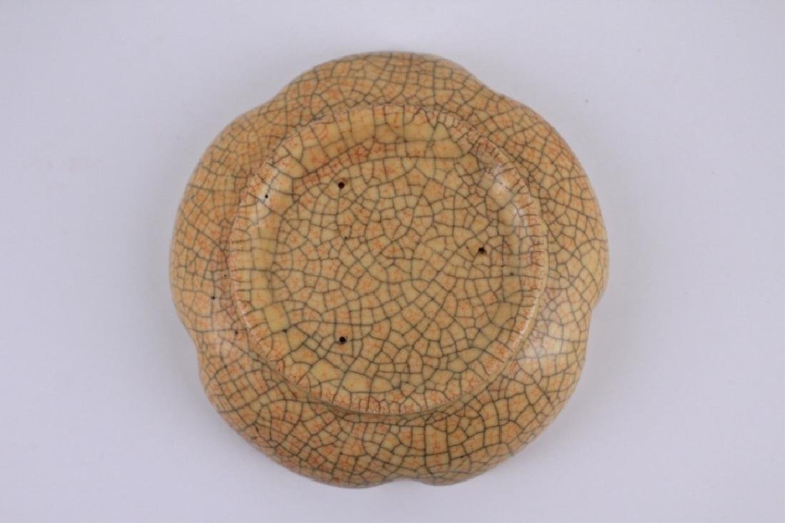 Song GeYao Porcelain Crackle Plate - 2