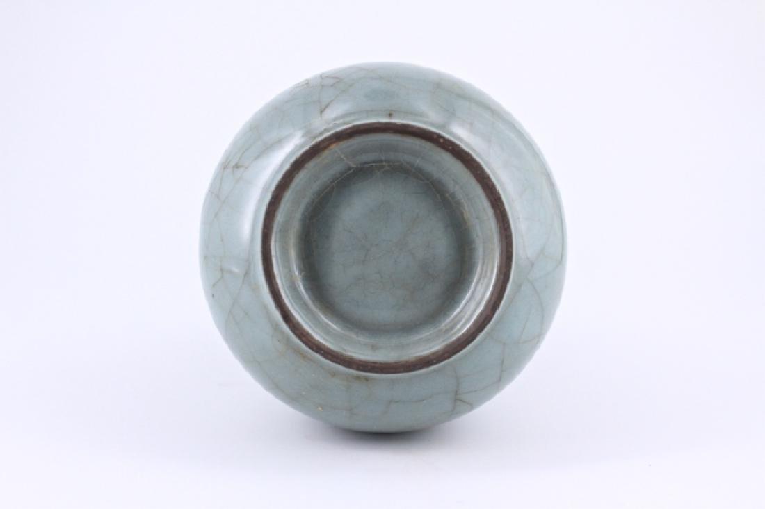 Song Guan Yao Crackle Porcelain Vase - 6