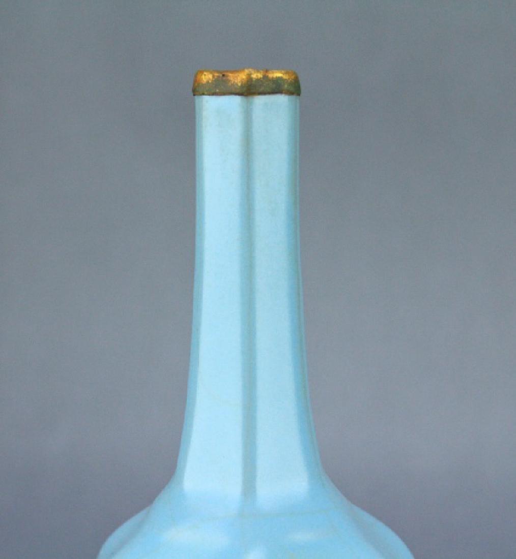 Song RuYao Sky Light Blue Porcelain Vase - 2
