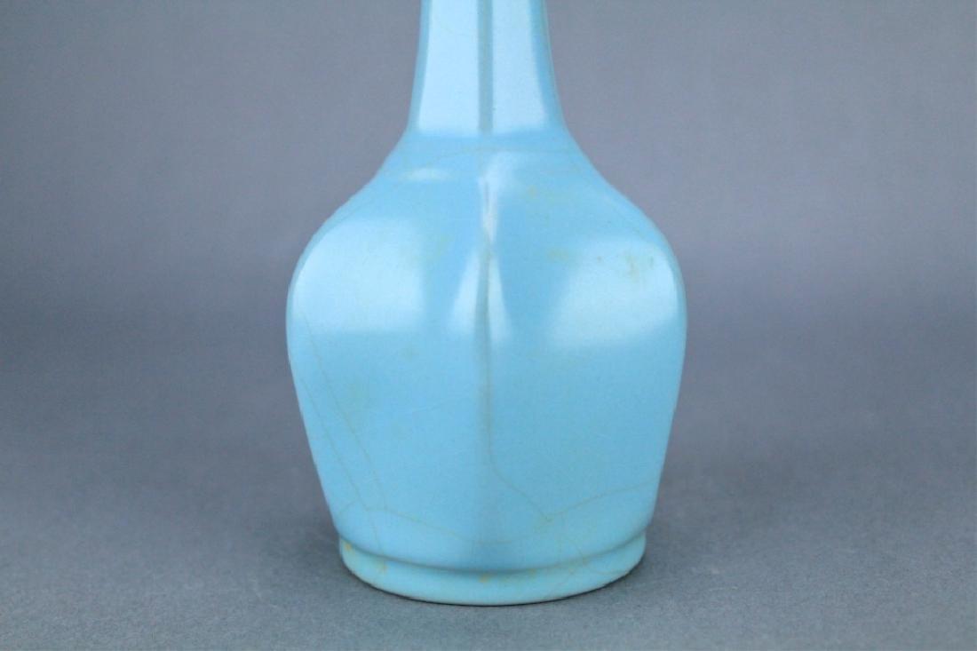Song RuYao Sky Light Blue Porcelain Vase - 3