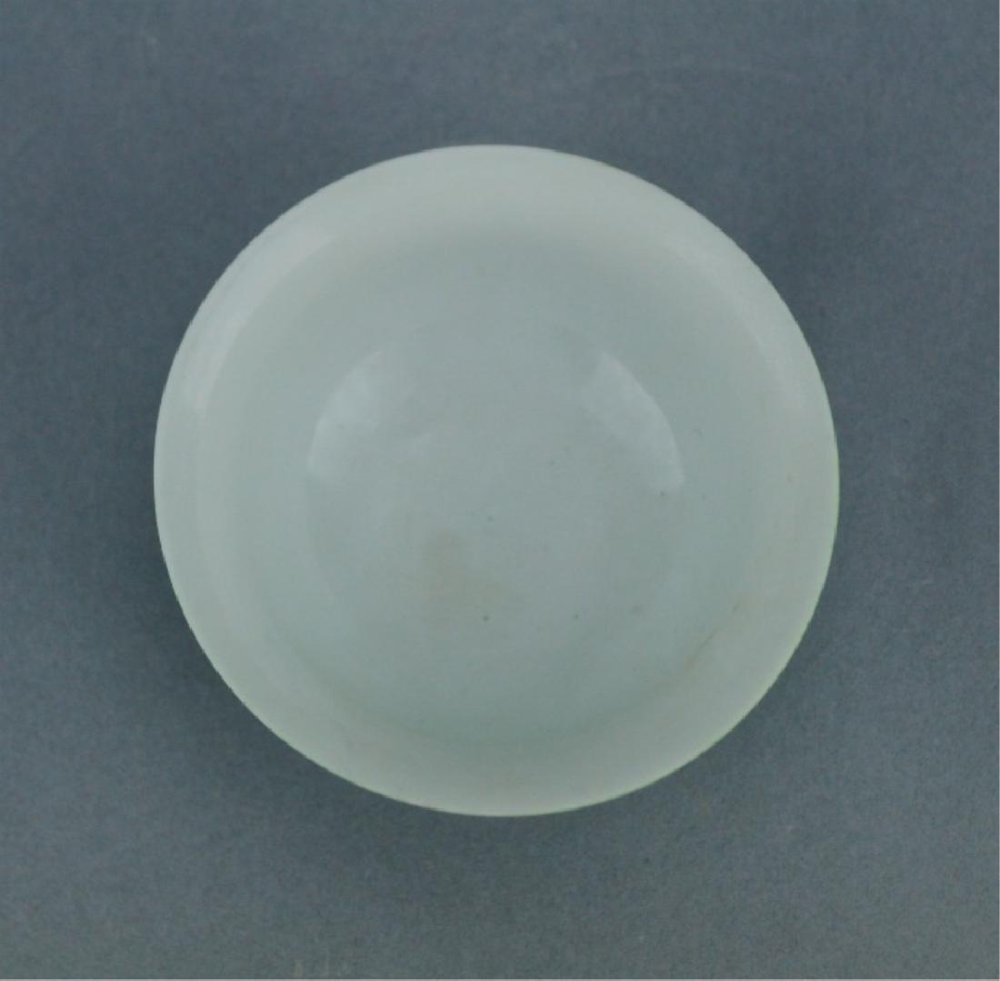 Ming Green Glaze Porcelain Dragon Bowl Chenghua Ma - 5