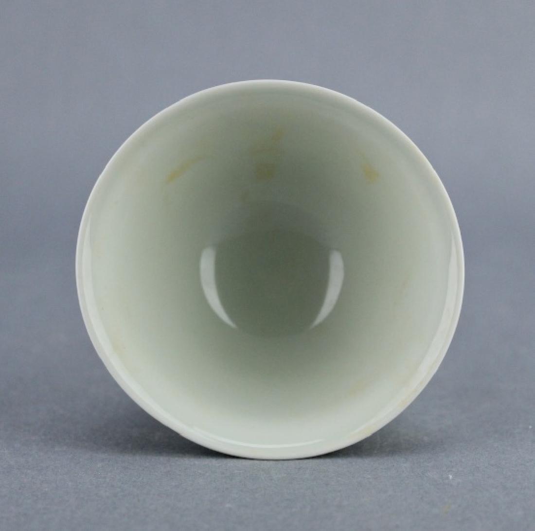 Ming DouCai Porcelain Cup ChengHua Mark - 4