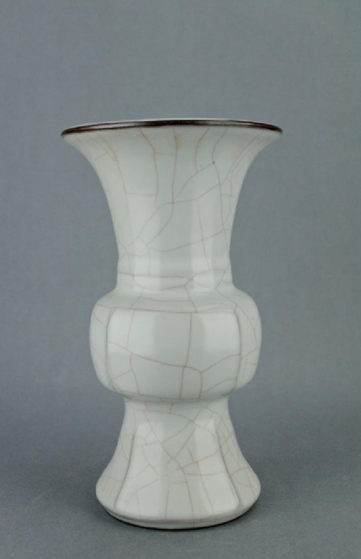Song GeYao Porcelain Crackle Vase