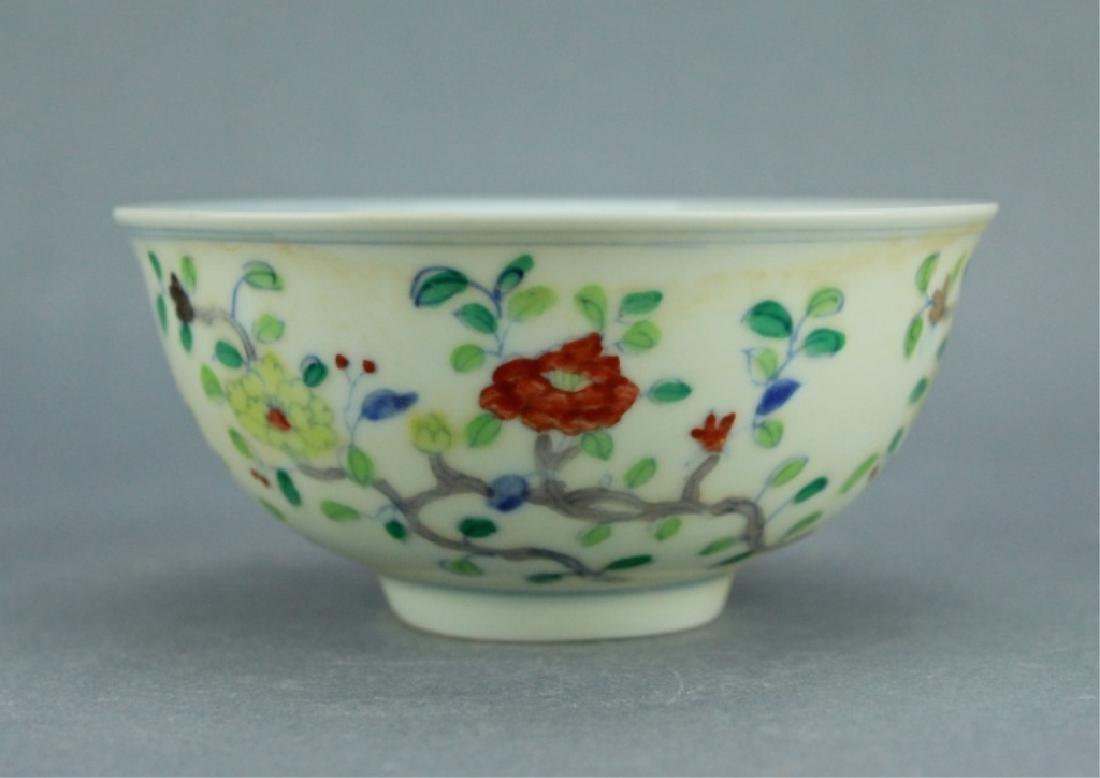 Ming DouCai Porcelain Bowl ChengHua Mark - 2