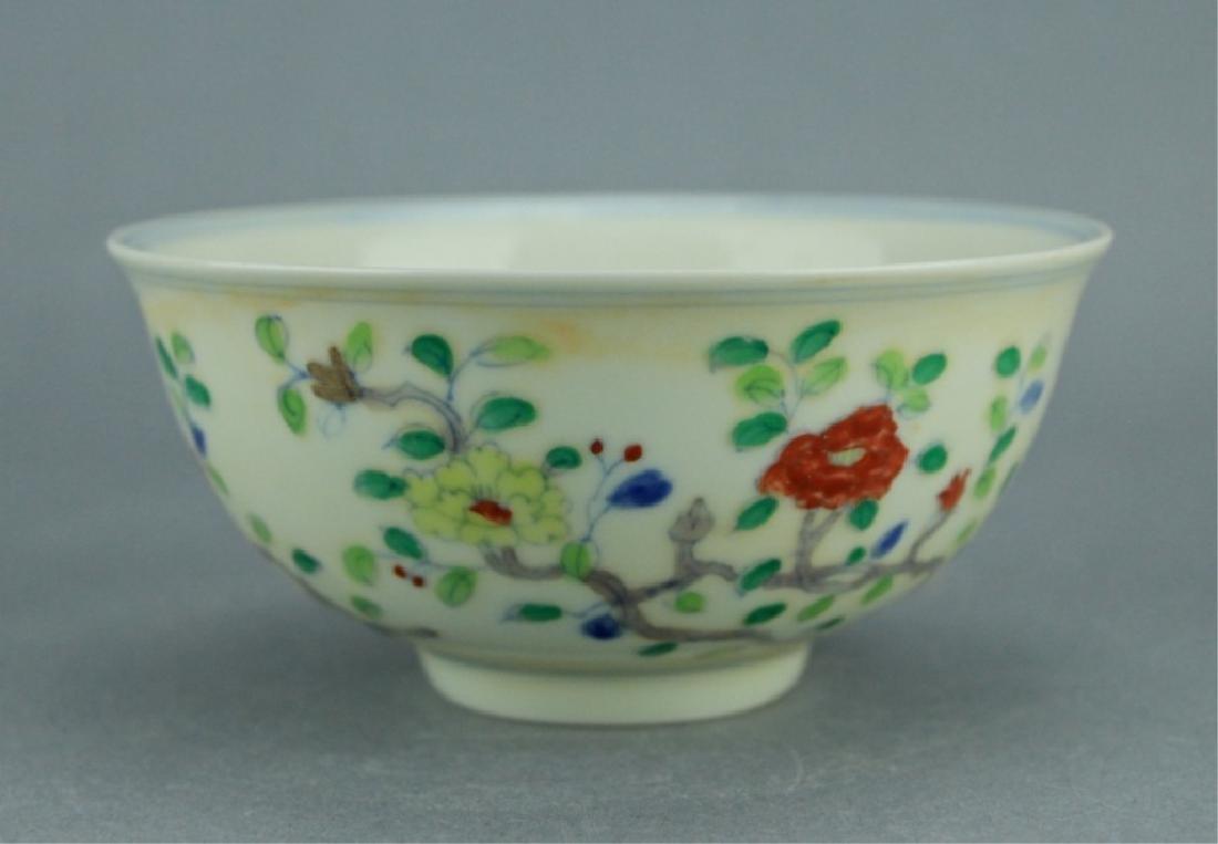 Ming DouCai Porcelain Bowl ChengHua Mark - 3