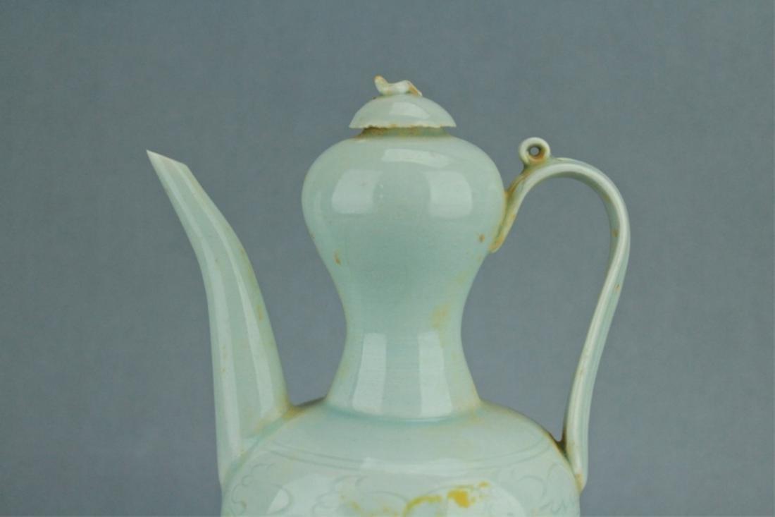 Song YingQing Porcelain TeaPot - 2
