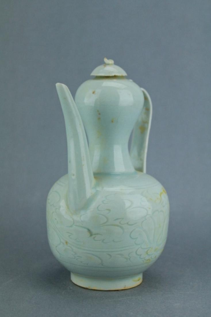 Song YingQing Porcelain TeaPot - 4