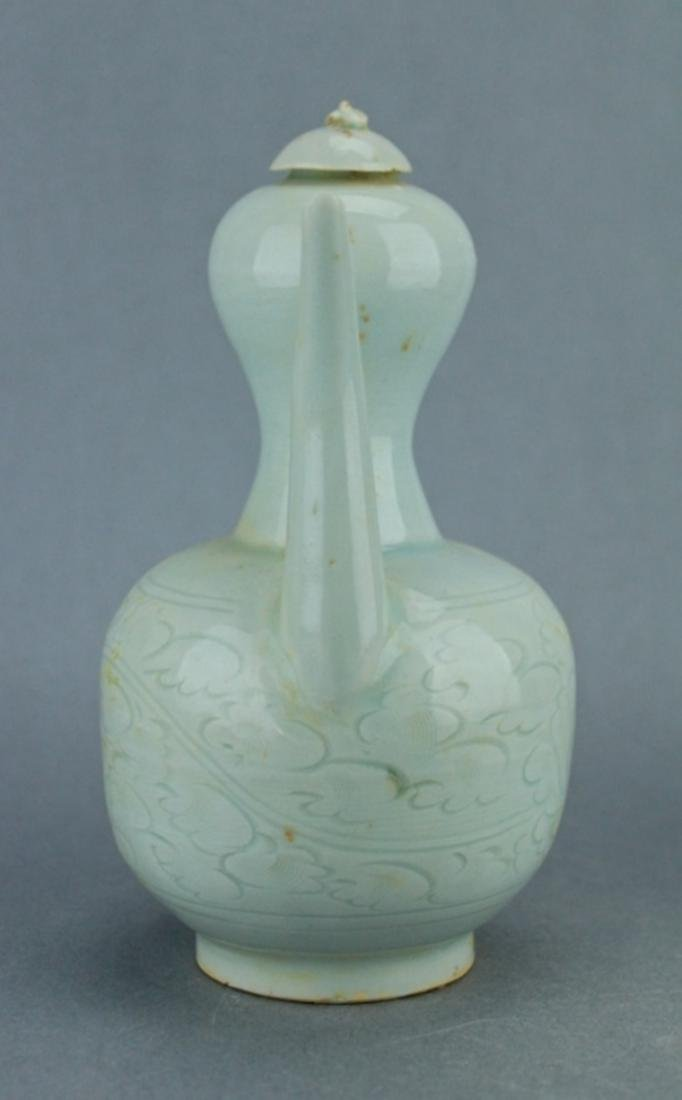 Song YingQing Porcelain TeaPot - 5