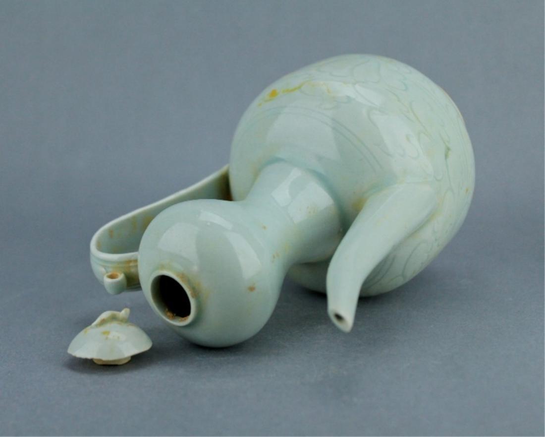 Song YingQing Porcelain TeaPot - 8