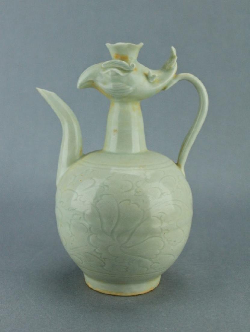 Song DingYao Porcelain Pheonix TeaPot