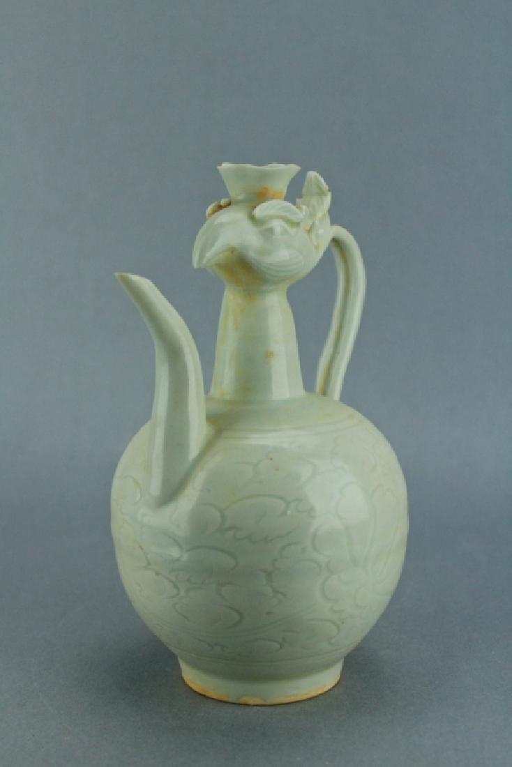 Song DingYao Porcelain Pheonix TeaPot - 2