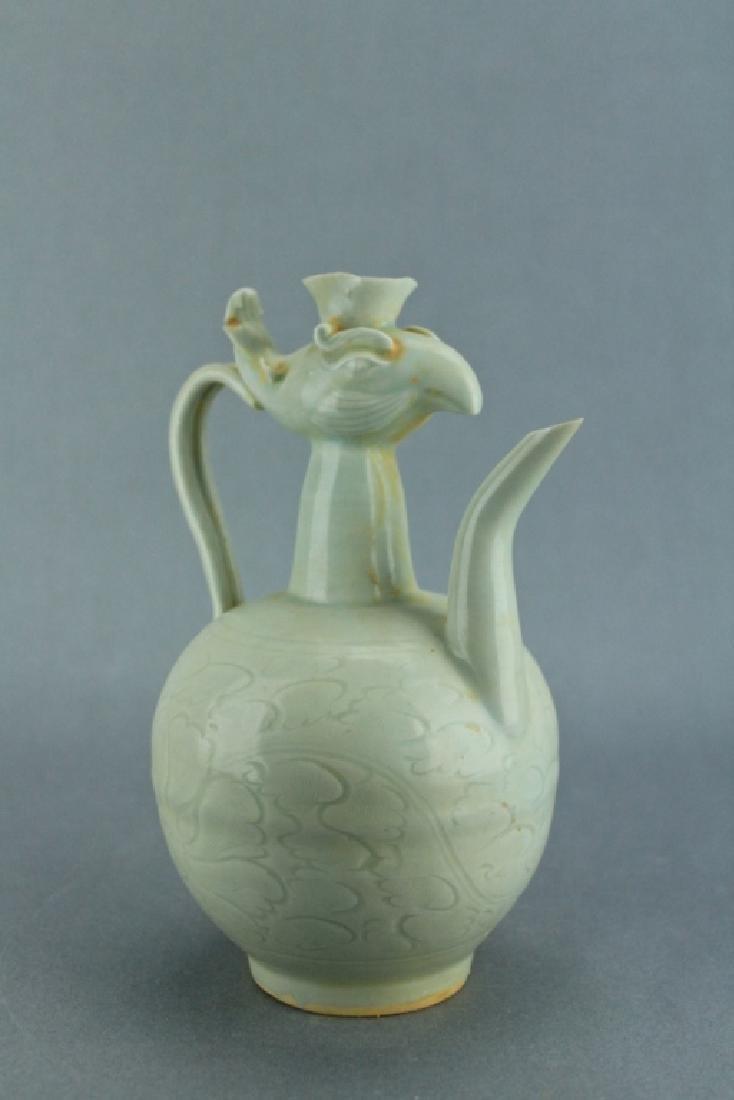 Song DingYao Porcelain Pheonix TeaPot - 3