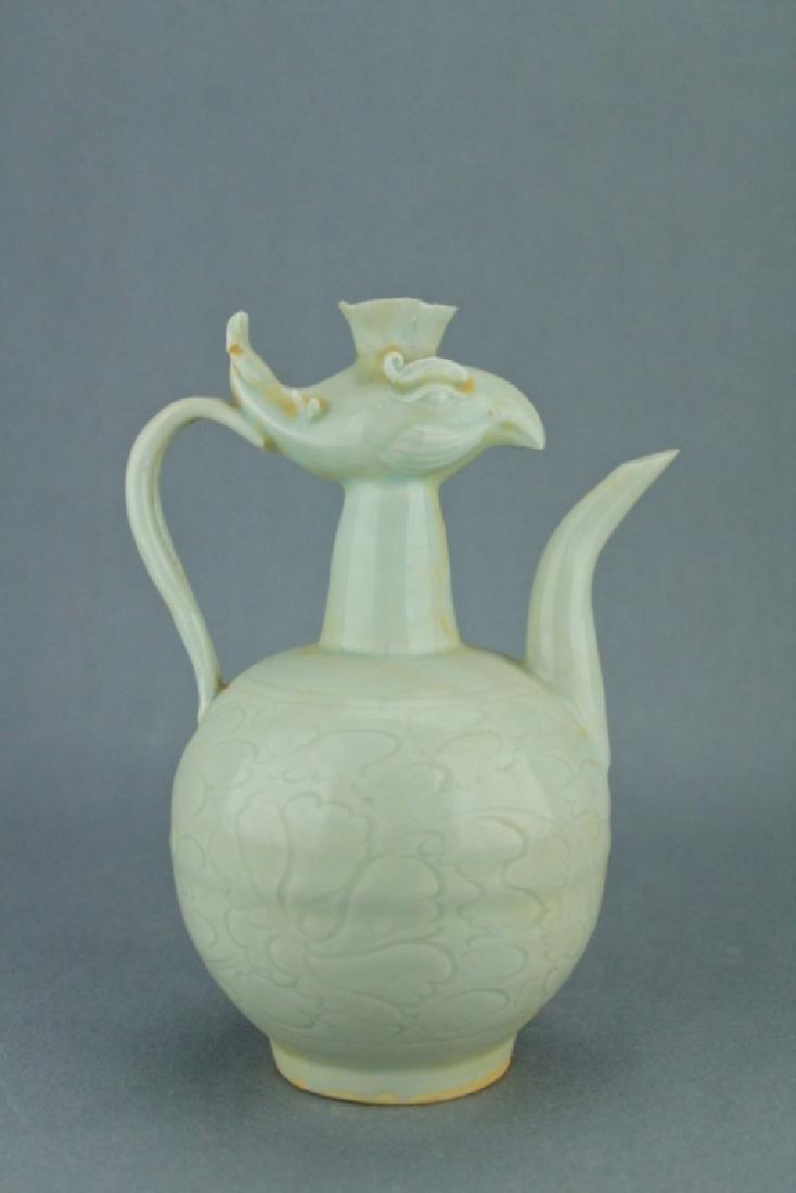 Song DingYao Porcelain Pheonix TeaPot - 4