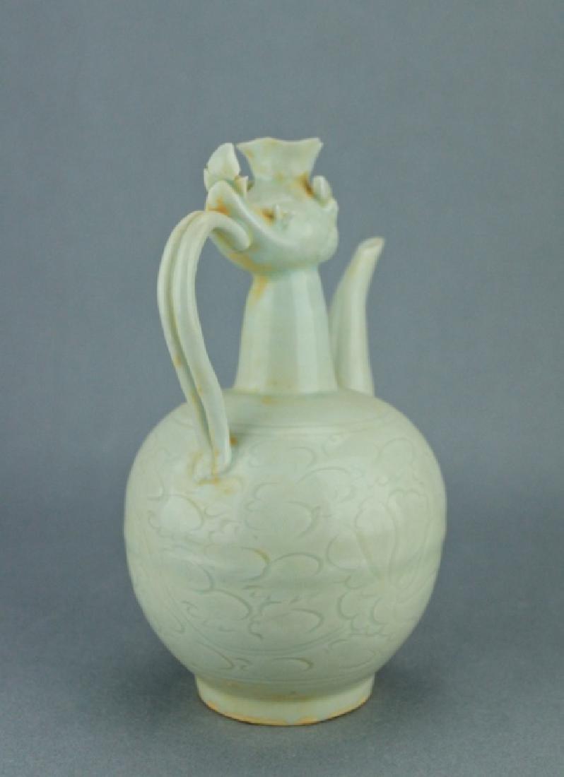Song DingYao Porcelain Pheonix TeaPot - 5