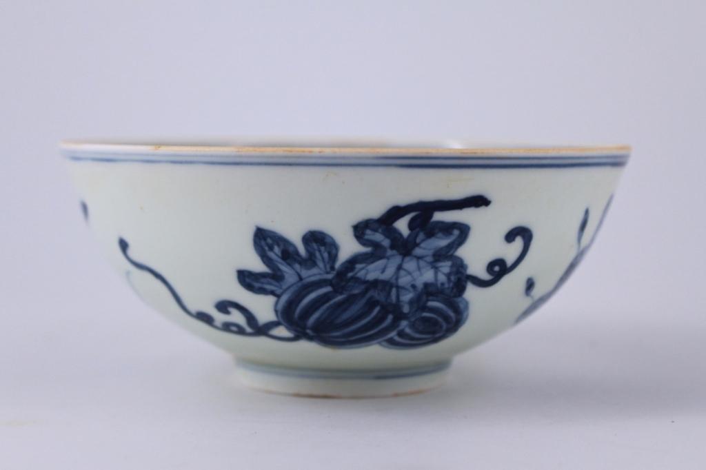 Ming Blue&White Porcelain Bowl